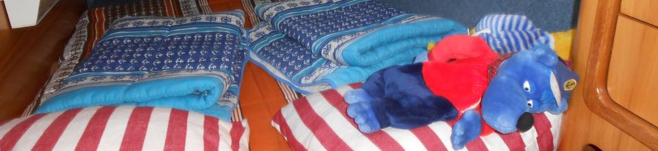 Kaptän Blaubär beim Mittagsschläfchen